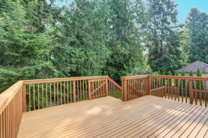 Large Wooden deck